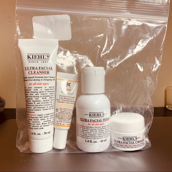 kiehls skincare set